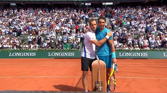 1-16, R.Nadal (ESP) - R.Gasquet (FRA) 6-3, 6-2, 6-2: Nadal sans pitié avec Gasquet [RTS]
