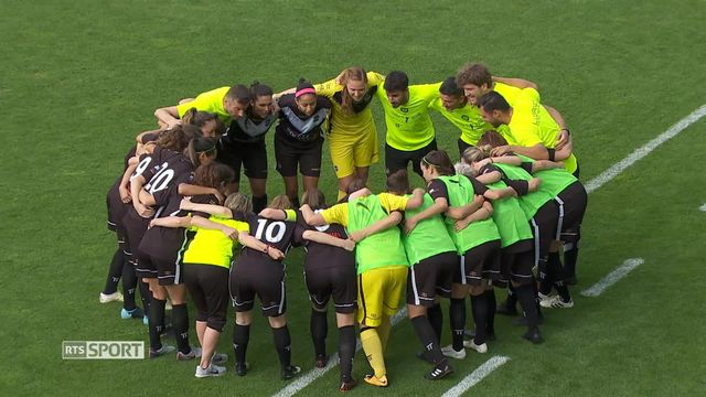 Football féminin: Zurich remporte la Coupe de Suisse contre Lugano (1-0) [RTS]