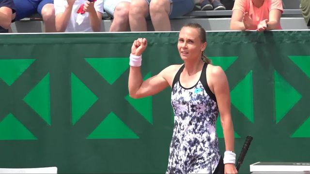 Belinda Bencic éliminée du tournois de Roland Garros. [RTS]