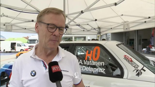 Ari Vatanen, champion de rallye 1981. [RTS]