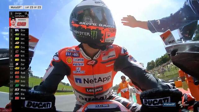 Moto GP, Mugello (ITA): victoire de Lorenzo (ESP) devant Dovizioso (ITA) 2e et Rossi (ITA) 3e [RTS]
