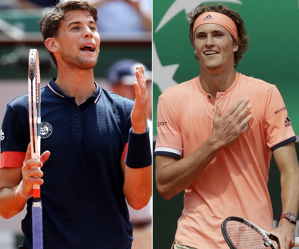 Roland-Garros : Thiem en demi-finale pour la troisième année consécutive