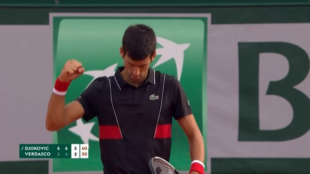 1-8, Djokovic (SRB) - Verdasco (ESP) 6-3 6-4 6-2: le Serbe s'impose en 3 sets [RTS]