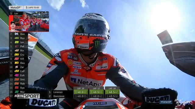 Moto: Thomas Lüthi au tapis, Jorge Lorenzo triomphe [RTS]