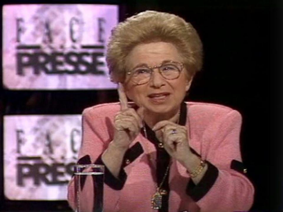 Dr Ruth en 1994 [RTS]