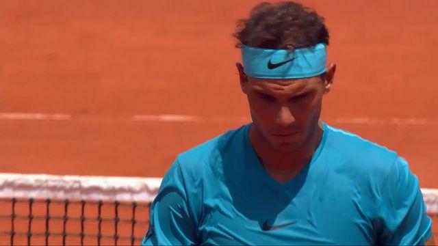 1-8, Rafael Nadal (ESP) - Maximilian Marterer (GER) 6-3: Nadal gagne le premier set [RTS]