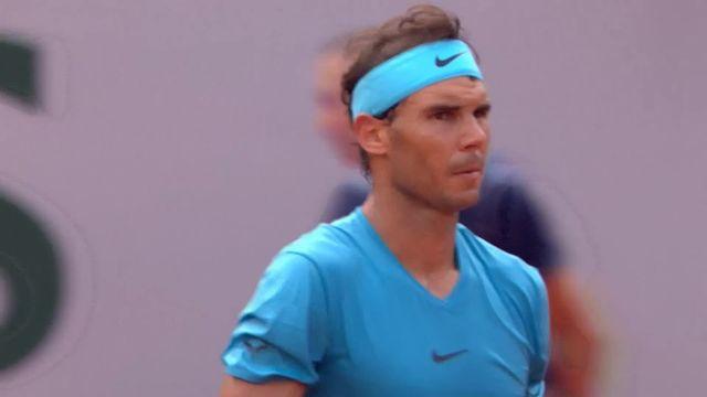1-8, Rafael Nadal (ESP) - Maximilian Marterer (GER) 6-3, 6-2: Nadal s'adjuge facilement le deuxième set [RTS]