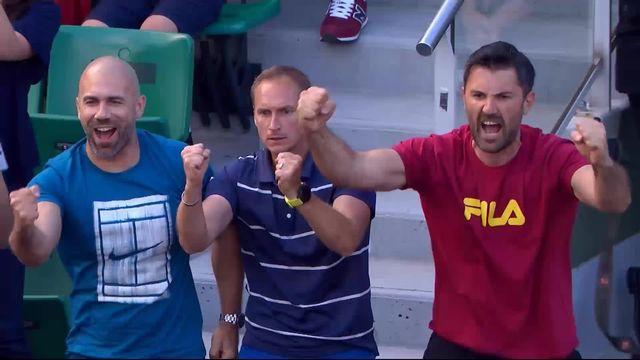 1-8, Marin Cilic (CRO) - Fabio Fognini (ITA) 6-4, 6-1, 3-6, 6-7, 6-3 : Cilic s'en sort après 3h37 de match [RTS]