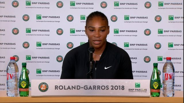 Serena Williams s'exprime sur les raisons de son forfait [RTS]
