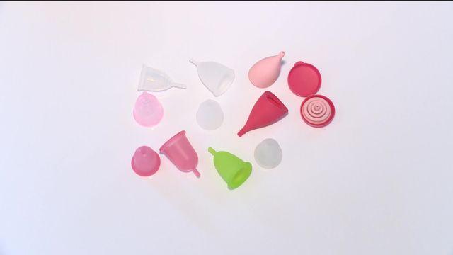 Les coupes menstruelles s'attaquent au marché des tampons [RTS]