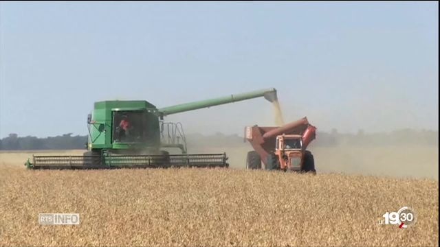 La marque Monsanto va disparaître. Annonce de Bayer qui vient d'acquérir le géant américain des OGM et des pesticides [RTS]