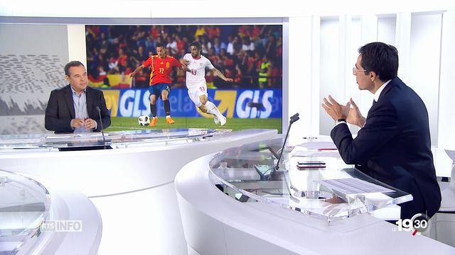 Football - Coupe du monde: les 23 joueurs sélectionnés sont dévoilés [RTS]