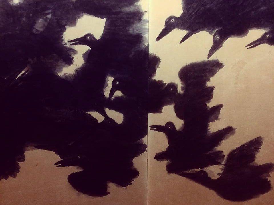 Maruki Iri et Maruki Toshiko racontent en peinture l'horreur de Hiroshima. [David Collin - Musée Maruki]