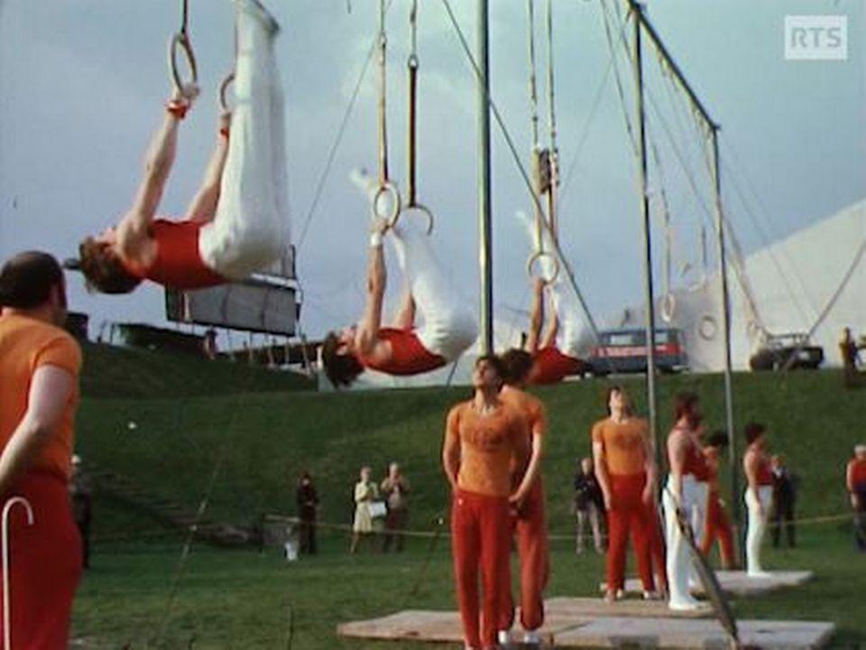 Fête Romande de Gymnastique, La Chaux-de-Fonds 1975 [RTS]