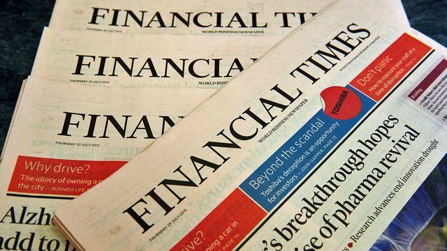 Un éditorialiste du quotidien britannique apporte son soutien à l'initiative Monnaie pleine. [Niklas Halle'n - AFP]