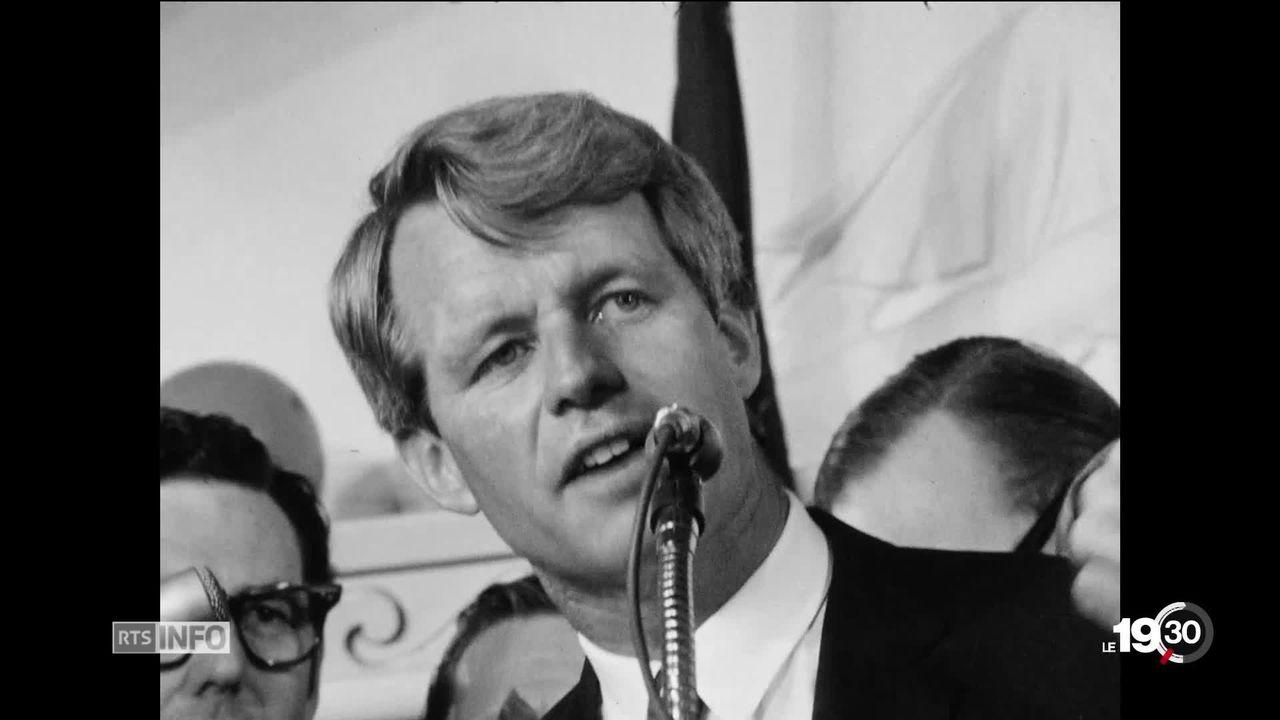 USA: 50 ans de la mort de Robert Kennedy assassiné à Los Angeles [RTS]