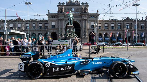 Zurich S Apprete A Accueillir Dimanche Une Course De Formule 1