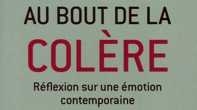 """Couverture du livre """"Au bout de la colère"""", écrit par Michel Erman. [DR - Editions Plon]"""