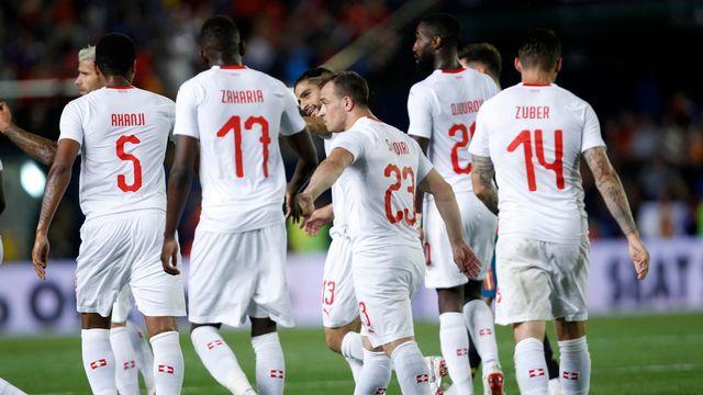 L'équipe de Suisse de football le 3 juin 2018. [Alberto Saiz - AP Photo - Keystone]