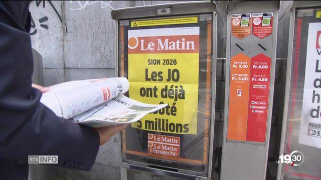 Presse romande: le quotidien le Matin disparaîtra fin juillet sous sa forme papier [RTS]