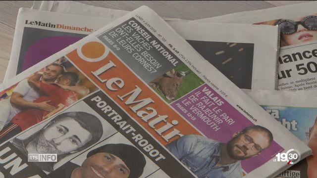 La fin de la version papier du journal Le Matin éclaire toute l'histoire de la presse [RTS]