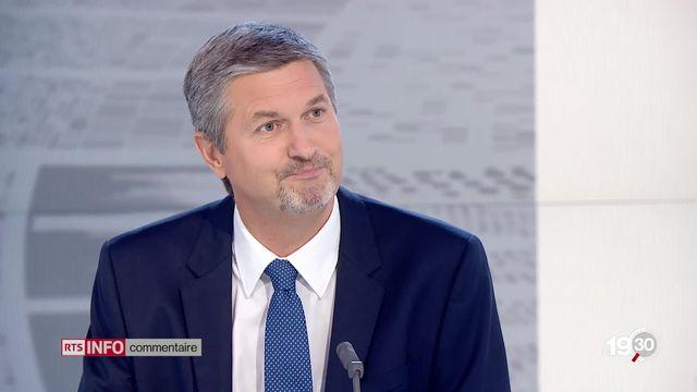 """Bernard Rappaz: """"C'est un nouveau coup d'assomoir, un formidable rétrécissement de l'espace médiatique romand."""" [RTS]"""