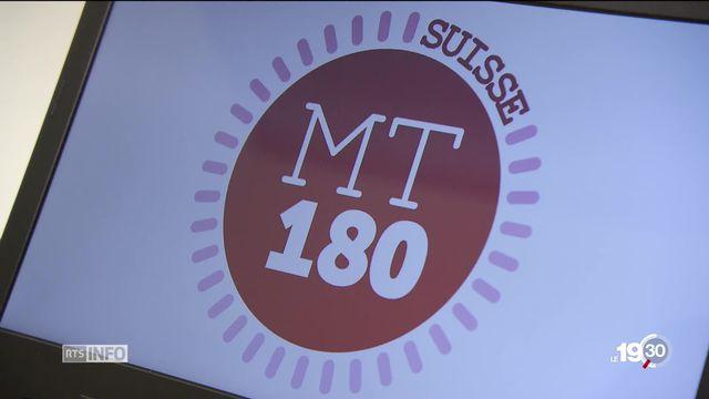 """Universités: finale suisse à Fribourg de """"Ma thèse en 180 secondes"""" [RTS]"""