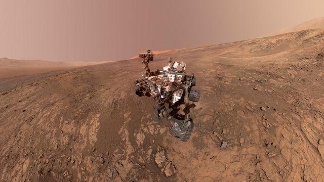 """C'est le robot de la Nasa """"Curiosity"""" qui a détecté la matière organique ainsi que les preuves de variations saisonnières sur Mars. [NASA - AP Photo]"""