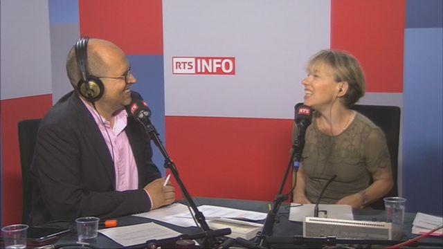 """L'invitée de Romain Clivaz (vidéo) - Irène Hermann, auteure de """"L'humanitaire en questions"""" [RTS]"""