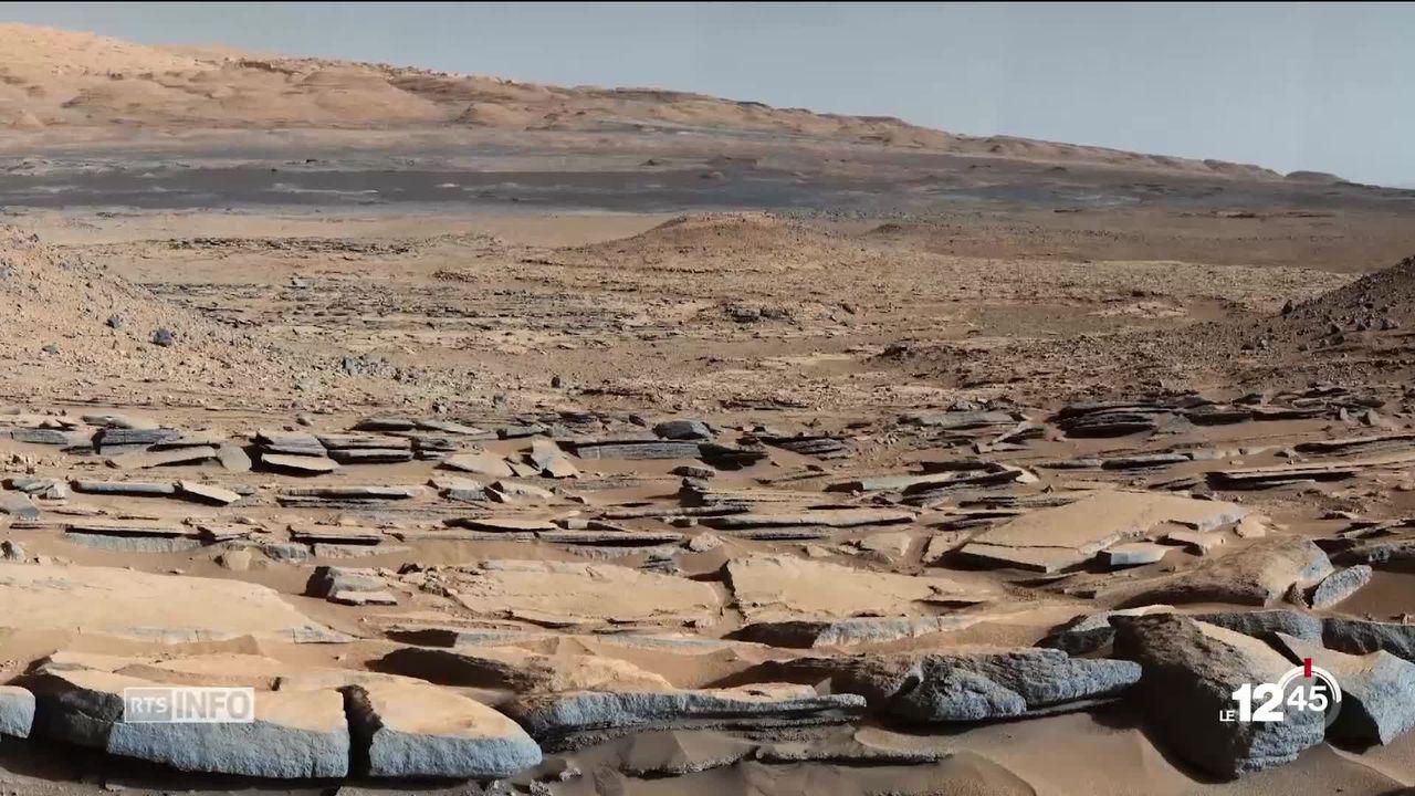 La Nasa a détecté sur Mars la matière organique la plus complexe jamais trouvée sur sa surface [RTS]