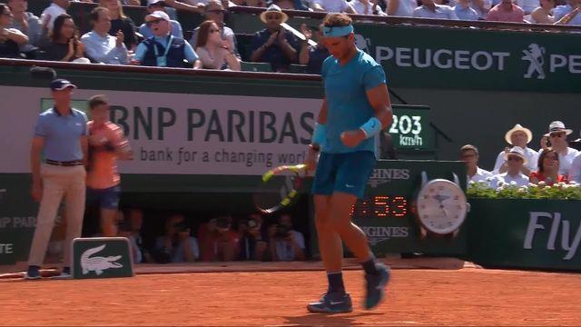 1-2, R.Nadal (ESP) – J.-M.Del Potro (ARG) 6-4: Nadal remporte le premier set [RTS]