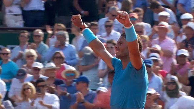1-2, R.Nadal (ESP) – J.-M.Del Potro (ARG) 6-4, 6-1, 6-2: Nadal jouera une 11e finale à Roland [RTS]