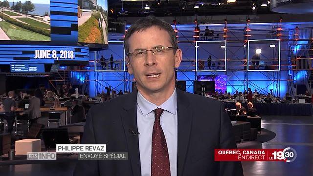 Ouverture du G7: les explications de Philippe Revaz en direct du Canada [RTS]