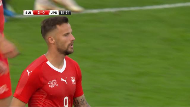 Amical, Suisse – Japon (1-0): 82e, Seferovic double la mise sur une belle remise de Moubandje [RTS]