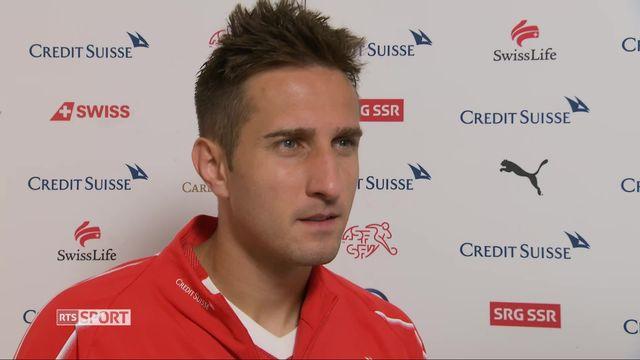 Amical, Suisse – Japon (2-0): la réaction de Mario Gavranovic après le match [RTS]