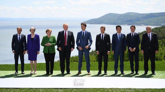 Le sommet du G7 a débuté le vendredi 8 juin 2018 dans la ville de La Malbaie au Canada. [Neil Hall - Keystone]