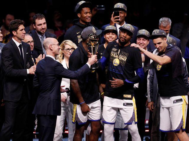 La Coupe est pour les Warriors, la dynastie régnant sur la NBA. [David Maxwell Shutterstock - Keystone]