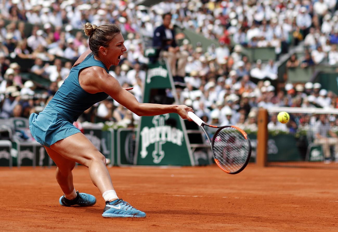 Simona Halep remporte son premier titre en Grand Chelem — Roland-Garros