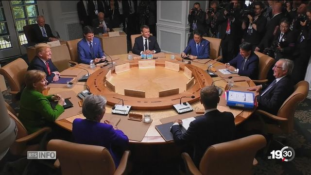 Le sommet du G7 au Canada se termine sur un bilan en demi-teinte [RTS]
