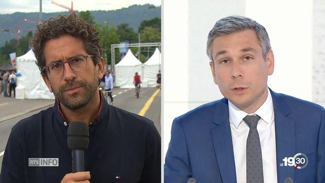 Grand Prix de Formule E à Zurich : les explications de Fathi Derder [RTS]
