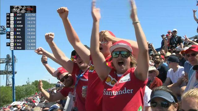 GP du Canada (n°7), Q3: Vettel (GER) en pôle devant Bottas (FIN) et Verstappen (NED) [RTS]
