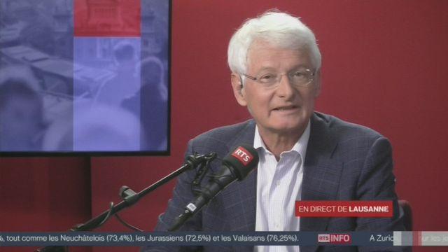 """La réaction de Jean-Pierre Danthine sur """"Monnaie pleine"""" [RTS]"""