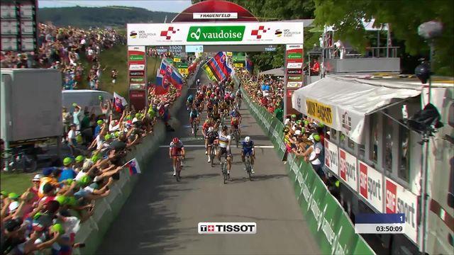 Tour de Suisse, Frauenfeld: victoire de Peter Sagan (SVK) [RTS]