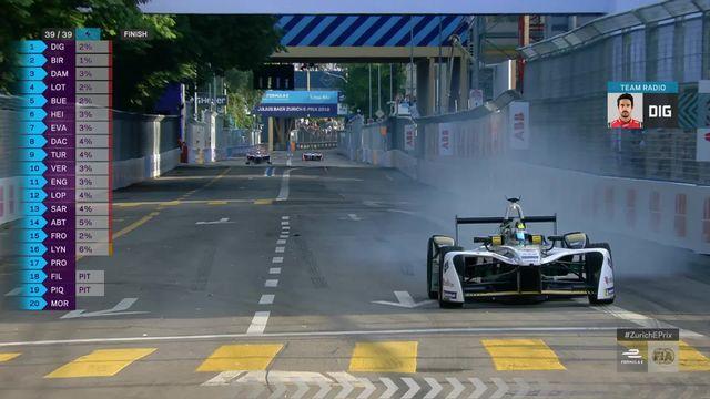 Formule E, Zurich: victoire de Di Grassi (BRA) , Buemi (SUI) 5e [RTS]