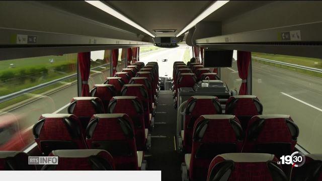 Mobilité en Suisse : le bus s'installe et fait de la concurrence au train [RTS]
