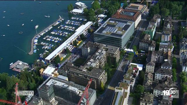 Formule E à Zurich : le retour des courses automobiles sur circuit en Suisse [RTS]