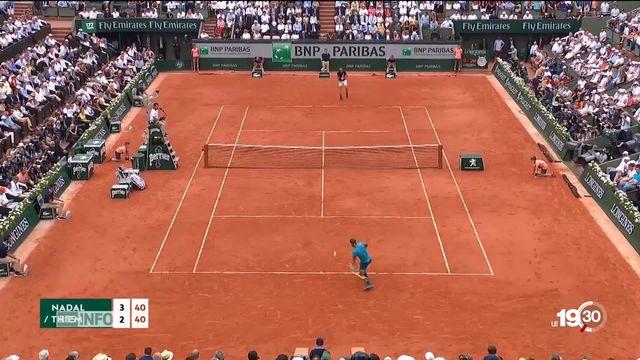 Rafael Nadal remporte sa 11e victoire à Roland-Garros [RTS]