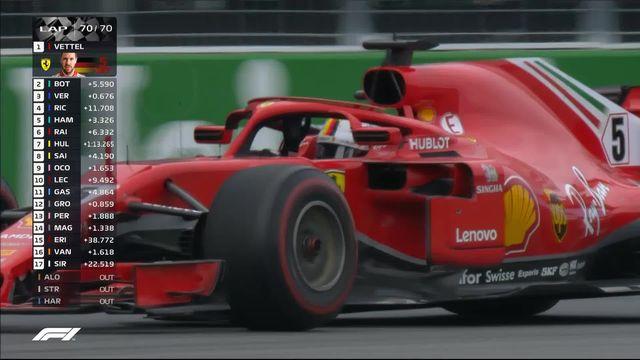 Formule 1, GP du Canada: victoire de Vettel (GER) devant Bottas (FIN) 2e et Verstappen (NED) 3e [RTS]