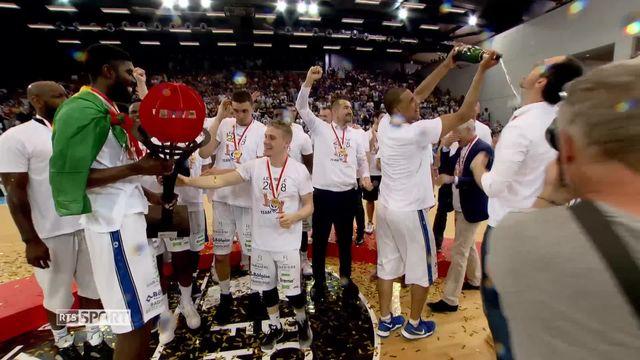 Basketball: Fribourg olympic s'offre un 17e titre de champion de Suisse [RTS]