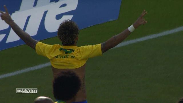 Football: retour sur le match du Brésil contre l'Autriche [RTS]
